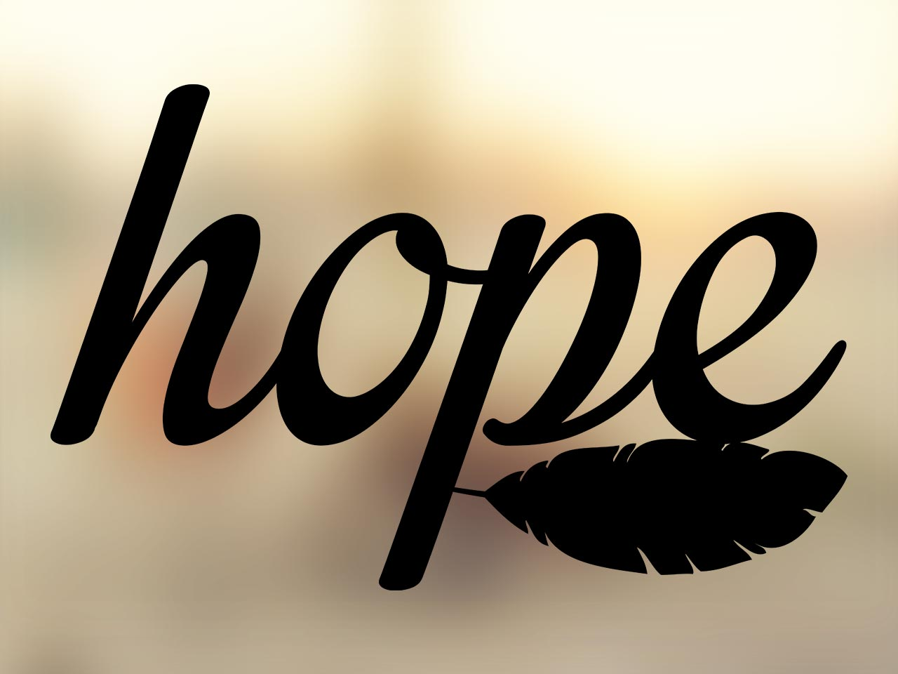 Hope with Feather color