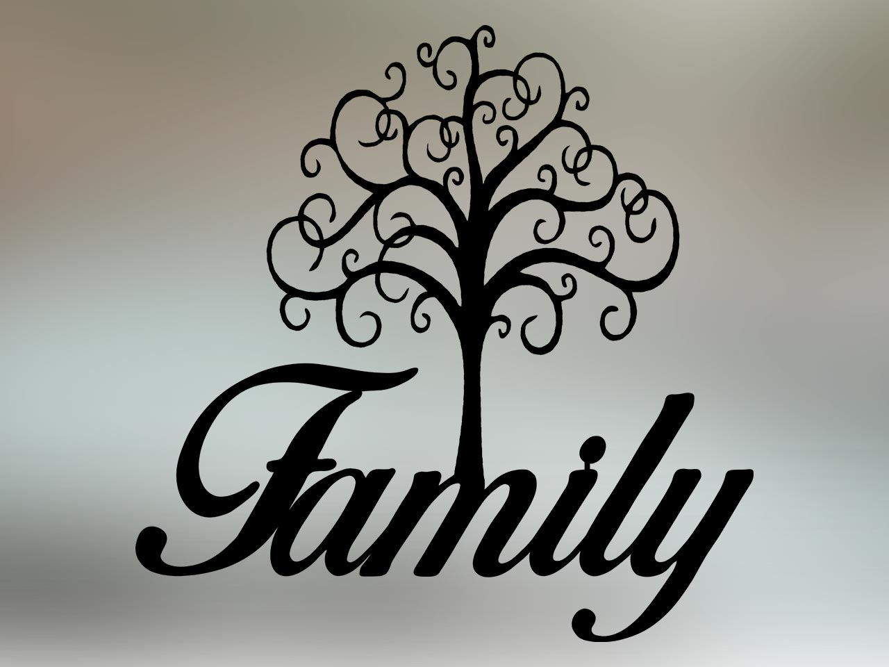 Family Tree on Color